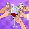 Здравје во чаша вино