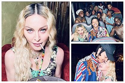 Мадона го прослави 62-от роденден во ''Јамајка стил'' со скандалозно ''мени'' за гостите