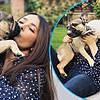 """Салма Хајек сподели видео со своето милениче по повод """"Светски ден на кучињата"""""""