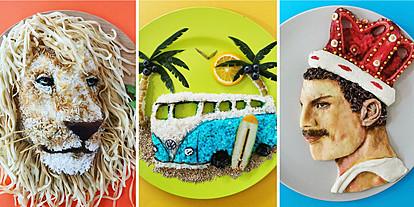 Оброци кои ќе ви биде жал да ги вкусите: Креативна мајка од Белгија создава уметност од храна