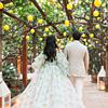 Италијански ресторан со поглед на Везув и амбиент на лимонови дрвја