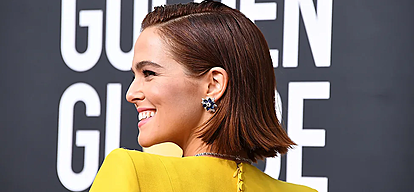 Интересни начини на Zoey Deutch како да носите боб фризура
