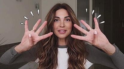 Лесни и забавни фризури од популарната блогерка Негин Мирсалехи
