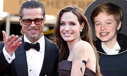 Анџелина Џоли и Бред Пит ја поддржуваат ќерката во промена на полот и името