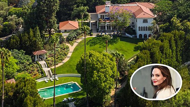 Домот на Анџелина Џоли и 6-те деца после разводот со Бред Пит