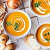 Есен на трпезата: Посна крем супа од тиква и зеленчук