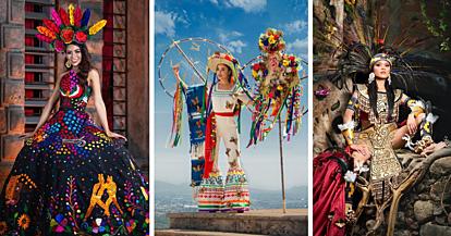 Учесничките на Мис Мексико 2020 се натпреваруваат во стилизирани народни носии