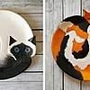 Русинка создава импресивни керамички садови во форма на свиткани мачки