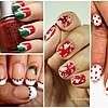 Стилизирајте ги ноктите во духот на новогодишната ноќ
